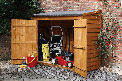 Maxi Wooden Shed Outdoor Storage Unit Utility Tools Box Garden Patio Yard Store