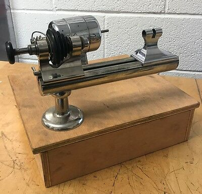 Boley Watchmakers Lathe Bed With Headstock Tailstock 009