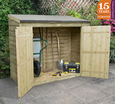 Forest Maxi Wall Store Pressure Treated Tool Storage Lawn Mower Store Patio Shed