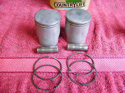 Yamaha 250 Yds 7 1973 Pistons And Rings