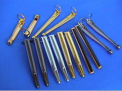 Woodturning Pen Kit Spares - CLIPS  Various for 7mm slimline/streamline/comfort