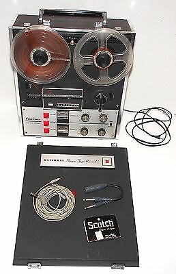 NATIONAL PANASONIC RS-755S 4 TRACK REEL TO REEL TAPE DECK PREAMPLIFIER w/ COVER