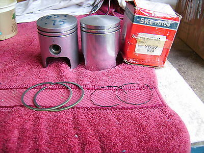 Yamaha 250 Yds7 Pistons Brand New And One Set Of Rings