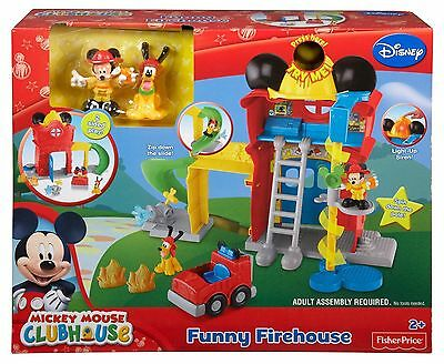 Disney - Mickey Mouse Clubhouse - Funny Firehouse NEW - 2+ Years - Fisher Price
