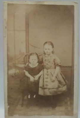 post mortem photo child children victorian cdv cabinet photo