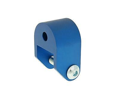 Riser Kit 40mm blue - APRILIA SR50 Funmaster since 03 (Piaggio Engine)