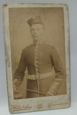 cdv photo band member ? england c 1800s victorian social history young man