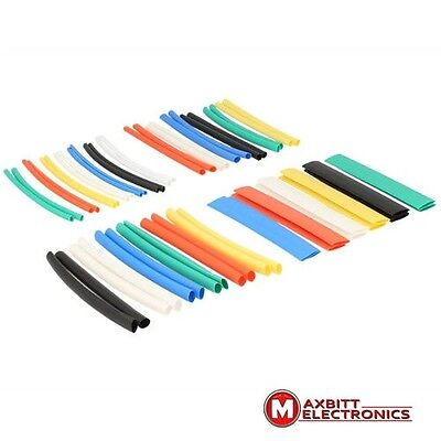 50PCS Multi Color Heat Shrink Tube Wire Wrap Electrical Insulation Sleeving