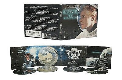 David Bowie the collaborator 4 disc CD the Legendary broadcasts