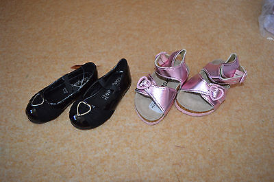 toddler younger girls shoes bundle infant uk size 4 /21 summer sandals pink