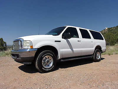 2002 Ford Excursion XLT 2002 Ford Excursion XLT 4WD V10