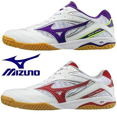 New Mizuno Table Tennis Shoes Wave Drive 8 81GA1705 Freeshipping!!