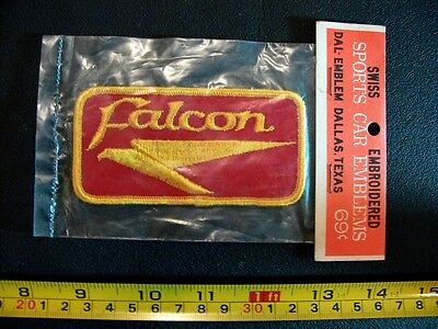 Embroidered patch FORD FALCON vintage 1970's original VINTAGE in package sharp!