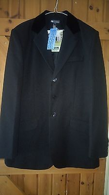BNWT Mens Dublin Hogarth Size 42 Black Show Jacket