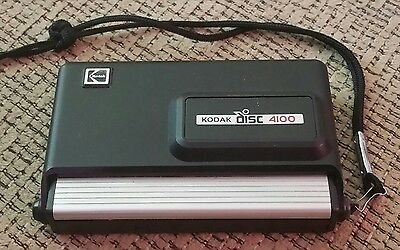 Vintage Point And Shoot 1980s Kodak Disc Camera 4100 Photography Collection RARE
