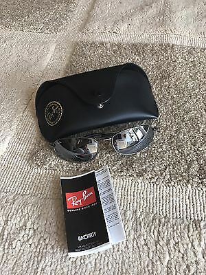 Mens Ray Ban Sunglasses - With Case