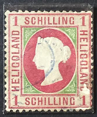 Heligoland Scott #6 1869/71 Good stamp Very Fine MLH Used Rare ST-205