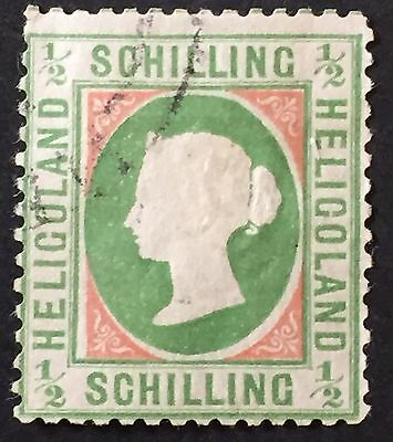 Heligoland Scott #5 1869/71 Good stamp Very Fine MLH Used Rare ST-203