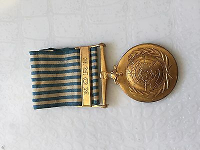 Korean War Un Turkish Medal Medallion Turkey Korea
