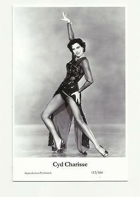 N151) Cyd Charisse Swiftsure (113/160) Postcard Film Star Actress Pin Up