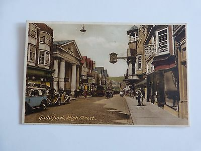 Guildford High Street, Surrey, old Francis Frith postcard