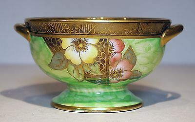 Maling Cobble & Strap Gilded & Lustred bowl