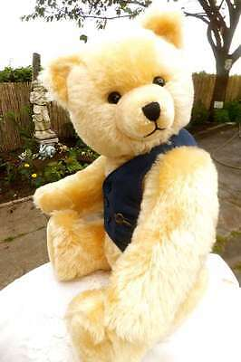 Antique / Vintage Magnificent 24 inch German Schuco Musical Teddy Bear  1950
