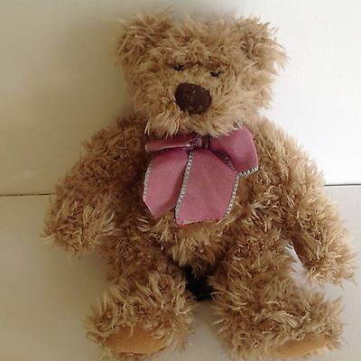 "Russ Berrie - Harlington - 8"" Plush Soft Teddy Bear - Lovely Condition"