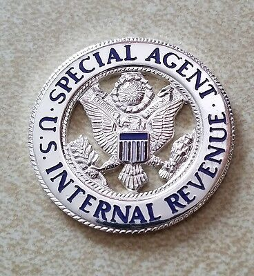 vintage and obsolete Internal Revenue Special Agent Police badge