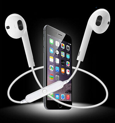 Bluetooth Headphones Wireless Headset SPORT Stereo Earphone for iPhone 7 Samsung