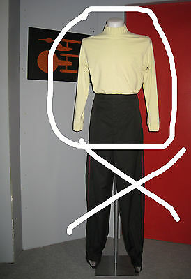 S  - Uniform Shirt Star Trek Movie Monster Maroon ST. II - VI