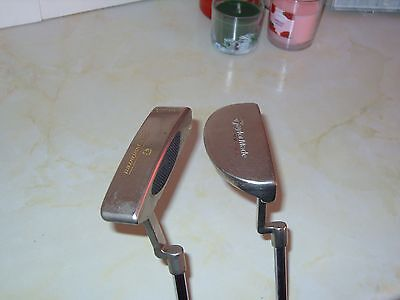 taylormade r/h putters x2