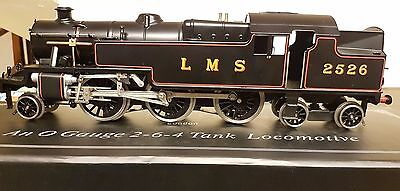 Ace Trains O Gauge E/8 LMS Black Stanier Tank Loco 2524 Electric 2/3 Rail Bxd