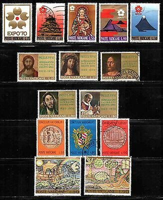 Vatican City Sets  Used & Unused Lt-242.5