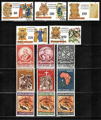 Vatican City 4 Sets  Used & Unused Lt-242.4