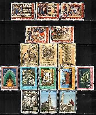 Vatican City 4 Sets  Used & Unused Lt-242.7