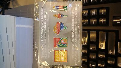 New 2016 Rio Olympics McDonald's Canada Coca Cola Pin Set of 4