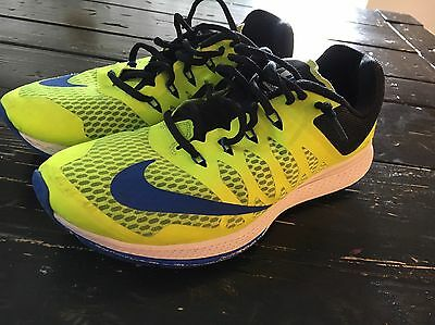 Men's Nike Zoom Highlighter Yellow Running Shoes Size 8