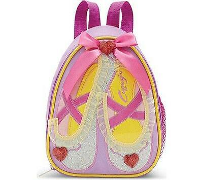NWT CAPEZIO lilac Slippers Dance BACKPACK  Kids