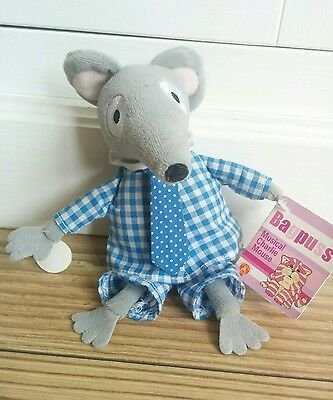 """OFFICIAL BAGPUSS CHARLIE MOUSE 6"""" PLUSH SOFT TOY sound not working"""