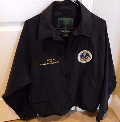 Authentic/Obsolete Office of Homeland Security Presidential Seal Jacket 2001