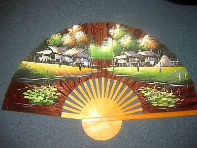 Japanese hand crafted wall Fan