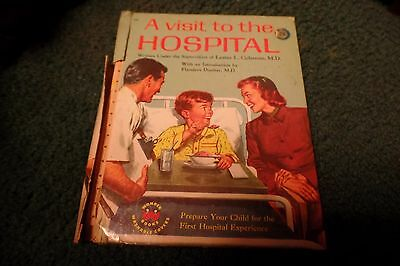 """1958 Wonder Book:  """"A Visit to the Hospital"""""""