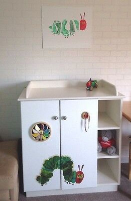Baby Chest /Doors with Changing Table Toy unit Solid Sensory Toy Storage