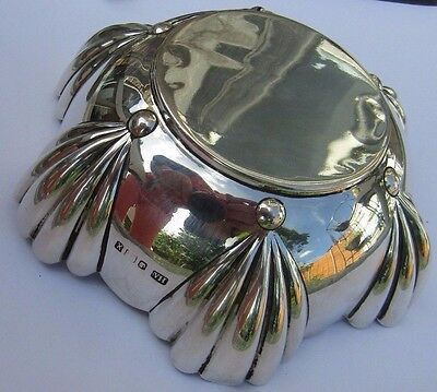 Antique Sheffield Sterling Silver Bon Bon Dish HA (H. Atkin) dated 1890