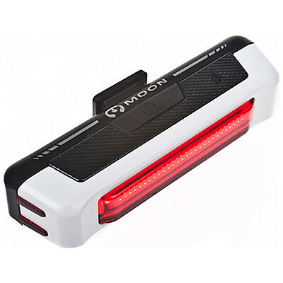 Moon Comet 35 Lumens USB Rechargeable Bright Rear Bike Cycle Bicycle Light