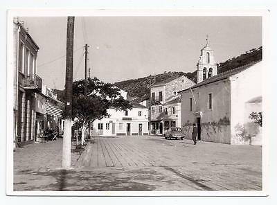 Greece Ionian Islands Paxi Paxoi Gaios Street View Old Photo Postcard