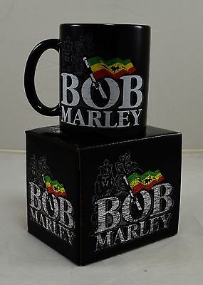 Officially Licensed Boxed Bob Marley Ceramic Mug Music Gift NEW! Gift/Present