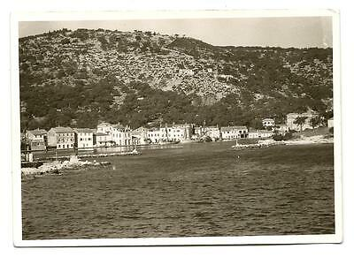 Greece Ionian Islands Paxi Paxoi Gaios View Of The Port Old Photo Postcard #1