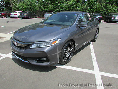 2017 Honda Accord Touring Automatic Touring Automatic New 2 dr Coupe Automatic Gasoline 3.5L V6 Cyl Modern Steel Met